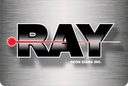 Ray Neon Sign