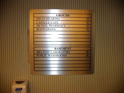 Indoor And Outdoor Directory Letter Board Signs Ray Neon